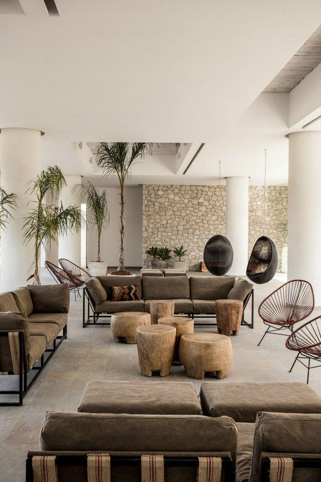 bohemian hotel design on greek island of Rhodes 5