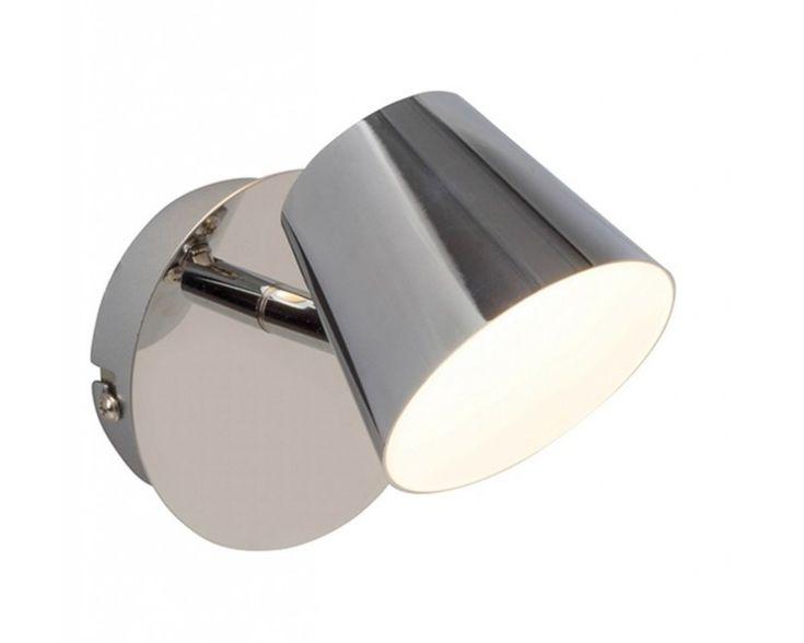Endon G3221015 Torsion Single Plate Spotlight 5W LED