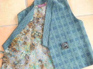 Sarah H. Jackson, Textile Artist: Turned Atwater Bronson Lace Kimono Vest