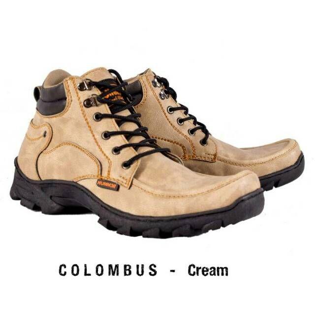 Hummer Colombus Original Sepatu Boot Pria Model Sepatu Boot Pria