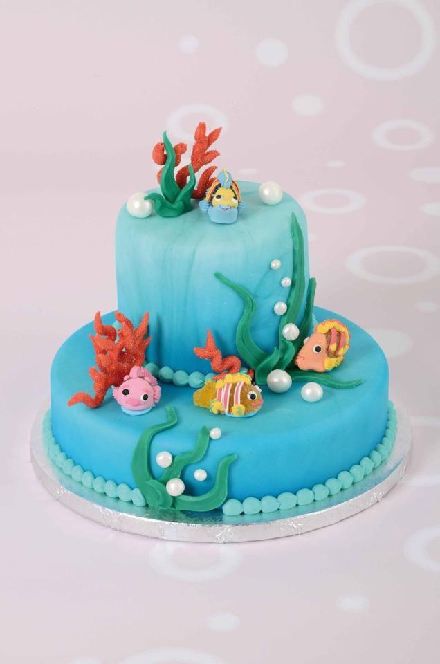 3D taart Oceaan
