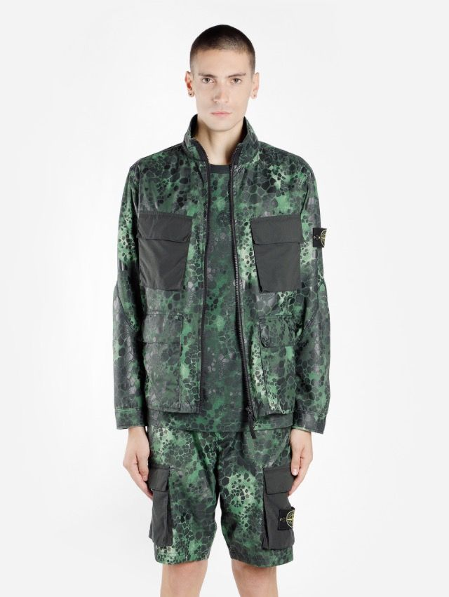 b3932e5b02e9f SS18 Alligator Camo: Inspired by the reptile camouflage used by the Polish  military in the early 90s, this bold new design is uniquely printed to  achieve ...