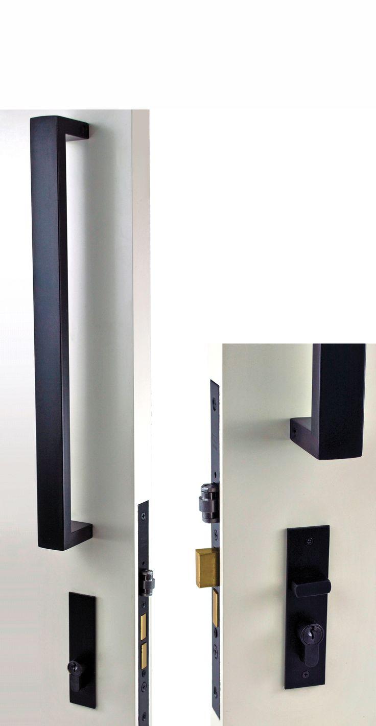 black front door handles. Nidus OZI-3 Roller Mortice Combo Set With PH826-400-BL Pull Handle. Door HandlesPull HandlesCabinet HardwareBlack Black Front Handles O