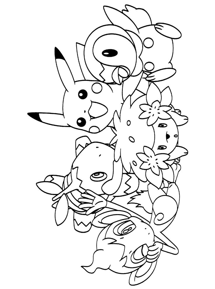 pokemon coloring pages free printable - photo#8
