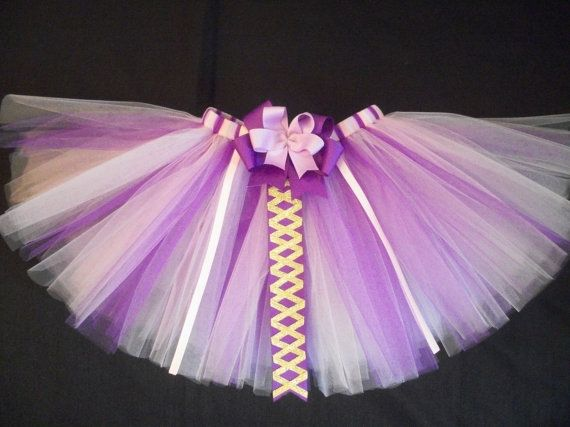 Rapunzel tutu princess rapunzel tangled inspired by CatyRoseBows, $24.00