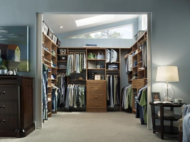 For closets that are open most of the time, pocket doors are a great option. The openness allows natural light to stream into the closet and master bedroom.  Coveting this!