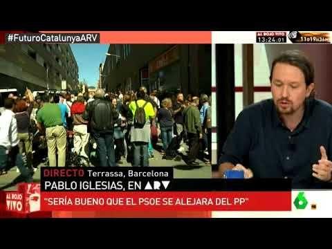 #Terrorismo 19/09/2017- 2º AL ROJO VIVO: AL ROJO VIVO- Este Pablo nos engaña , ni es Patriota ni defiende a España de los que quieren…