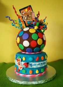 candy crush cakes ideas