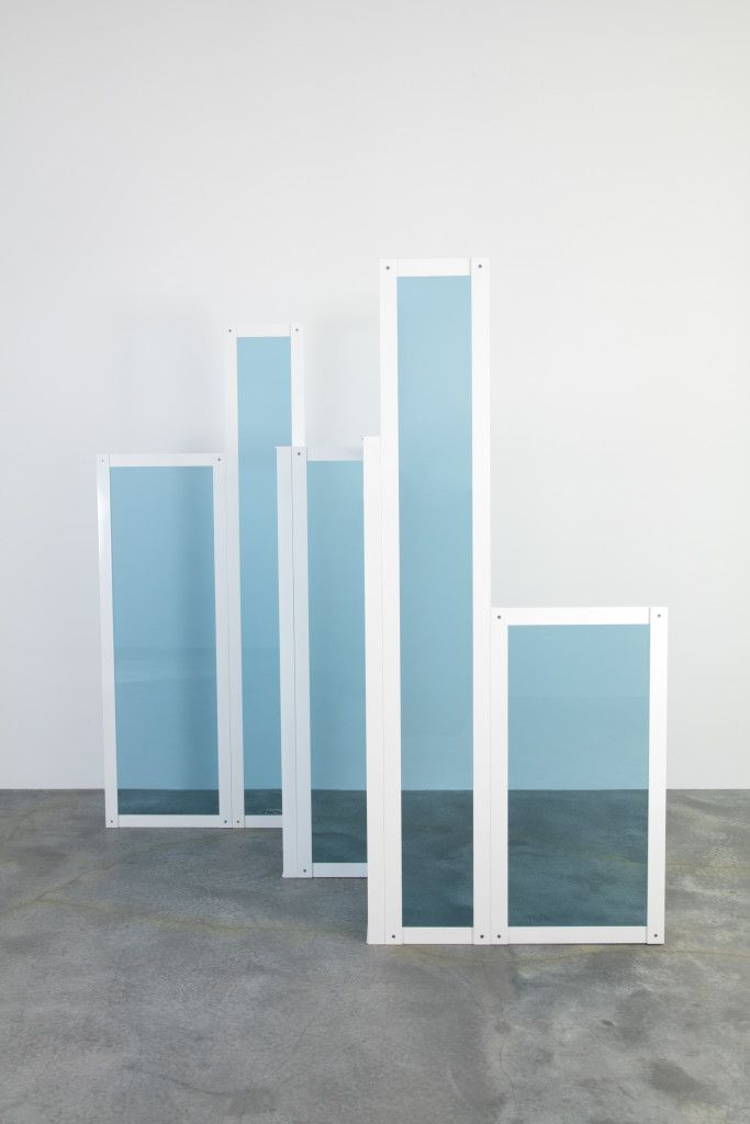 Liam Gillick: Revised Elevation, 2016. Exh. Phantom Structures, Casey Kaplan Gallery, NYC. February 11 - March 19, 2016.