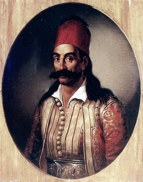 Γεώργιος Καραϊσκάκης (1780 ή 1782 - 1827) πίνακας του Διονυσίου Τσόκου