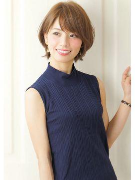 『Rue:京都』大人キレイ☆愛されショート - 24時間いつでもWEB予約OK!ヘアスタイル10万点以上掲載!お気に入りの髪型、人気のヘアスタイルを探すならKirei Style[キレイスタイル]で。