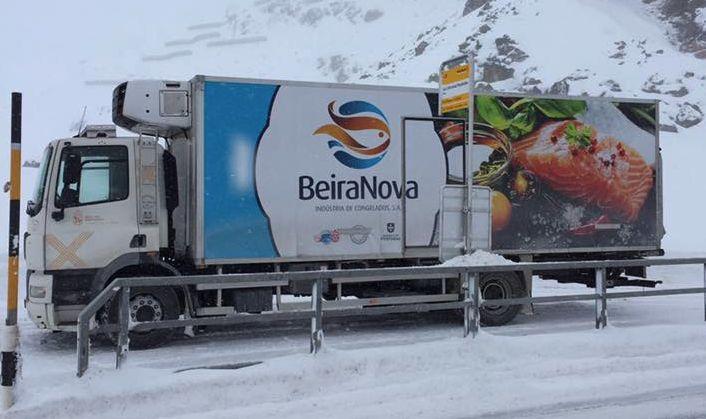 Decoração de camião para a BeiraNova.