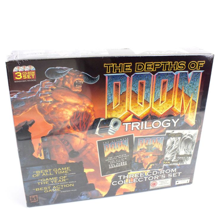 The Depths of Doom Trilogy for PC by id Software, BNIB, Sealed