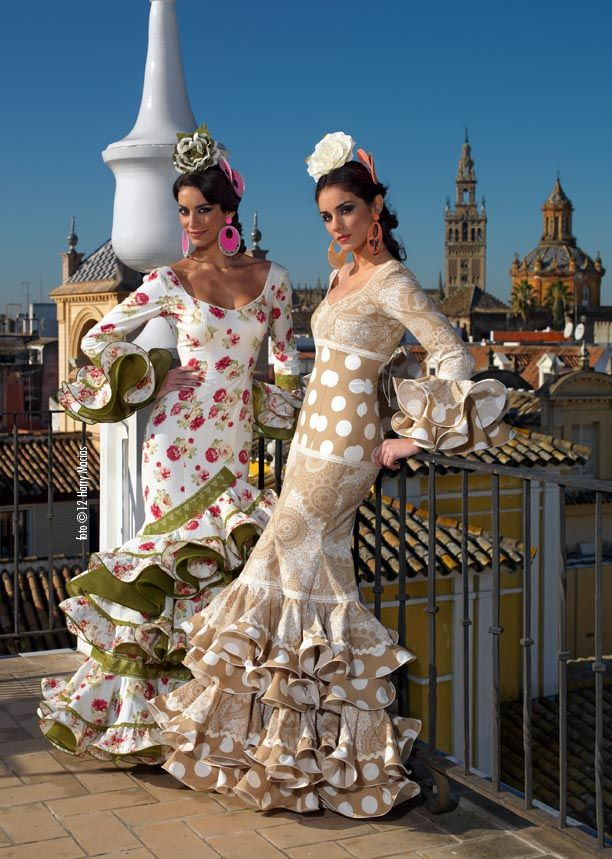 Flamencas en el Mirador - Aires de Feria Lucy likes the beige and I would take either :)