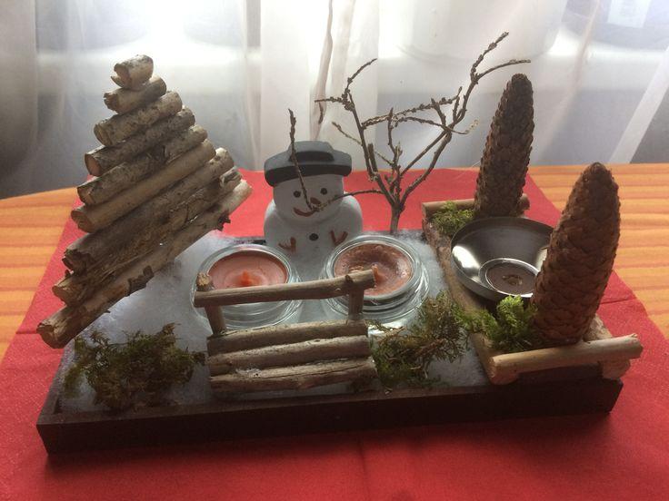 Meine Weihnachtsdeko Für Den Büro Schreibtisch