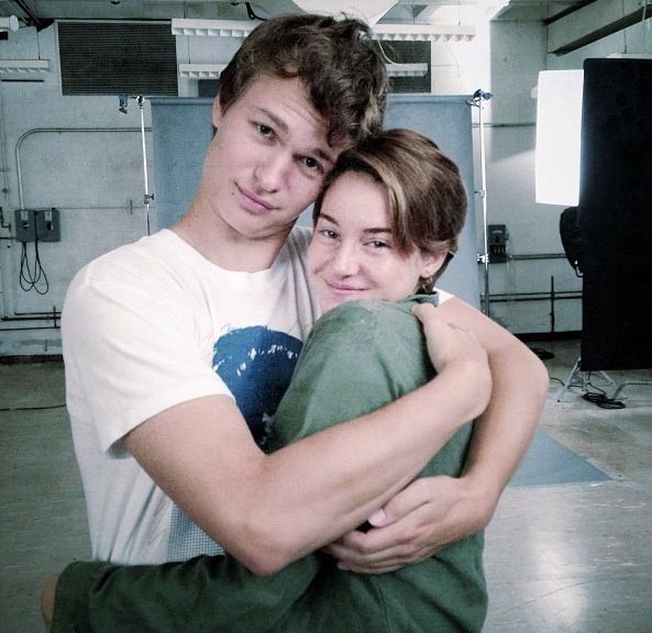 Shailene and Ansel aka Hazel and Augustus ~the fault in our stars