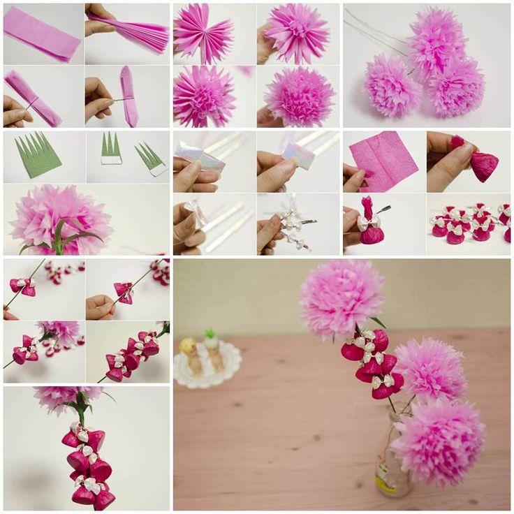 Vergänglichkeit Papierblumen