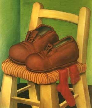 Zapatos, Fernando Botero