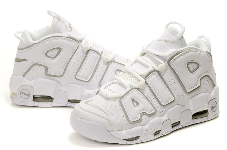 Nike Air More Uptempo Scottie Pippen Shoes White/Grey