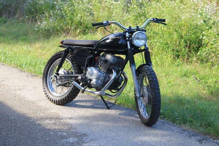 honda cm 125 scrambler motos vaucluse custom motorbike moped motorcycle. Black Bedroom Furniture Sets. Home Design Ideas