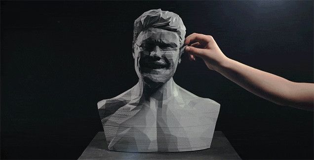 Trippy [#Video] Uses #3DPrinting and Stop-Motion #Animation to Make a Statue Sing