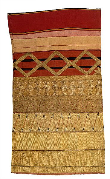 Woman's ceremonial skirt [tapis], late 19th - early 20th century Lampung, Sumatra, Indonesia