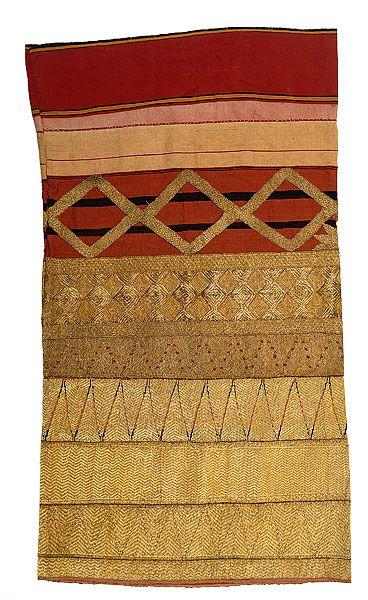 | Woman's ceremonial skirt [tapis]