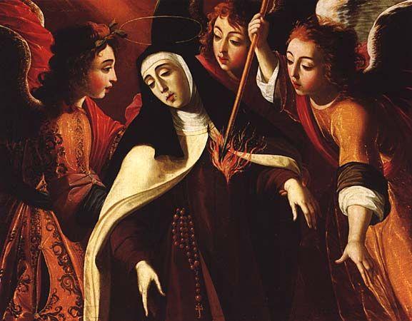 """Josefa de Óbidos, """"Transverberação de Santa Teresa"""" (1672)"""