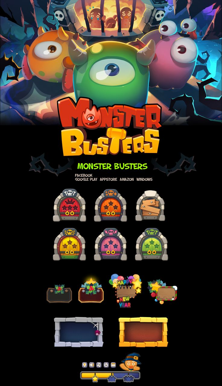 Monster Busters on Behance