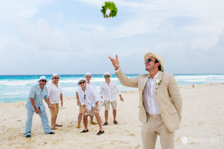 From one brother to another  Best of times from the best of friends #palaceresorts #beachpalace #weddingphotography #weddingphotos #groomsmen #bridalparty