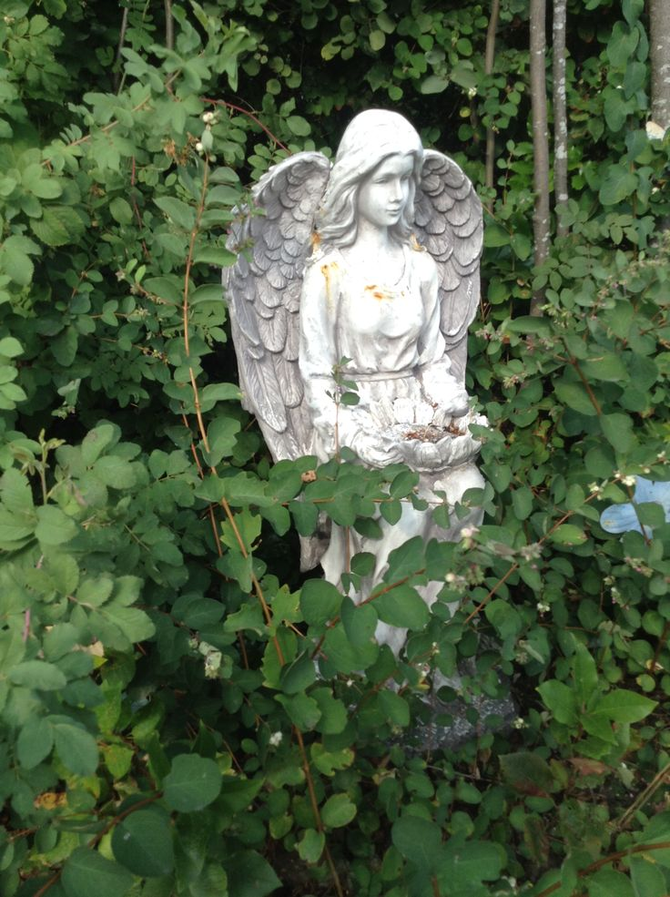 One of the angels along the Taylor Van Diest Trail