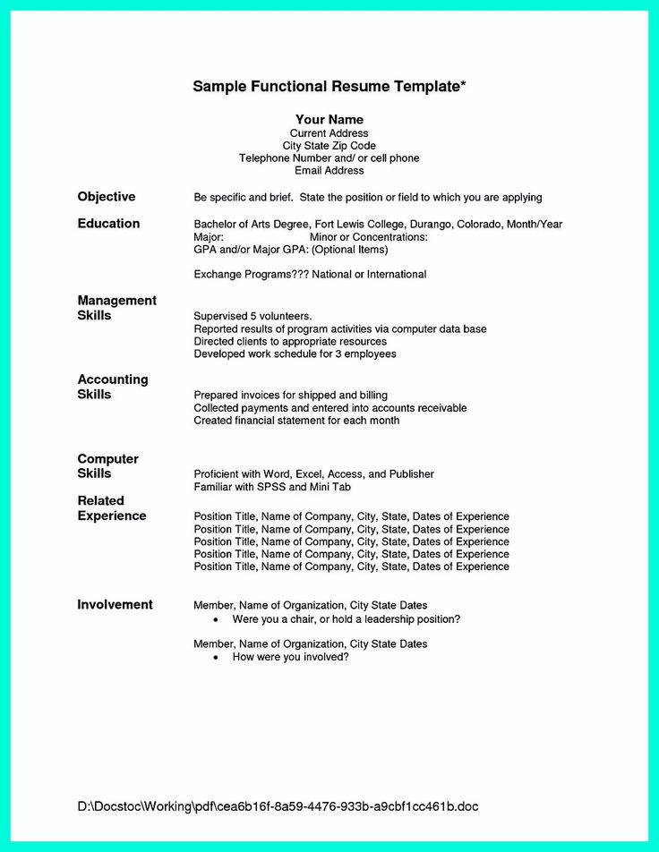 best 25  chronological resume template ideas on pinterest