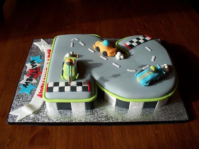 another car cake