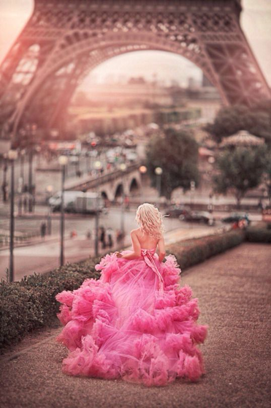 Romancing the gown in Paris