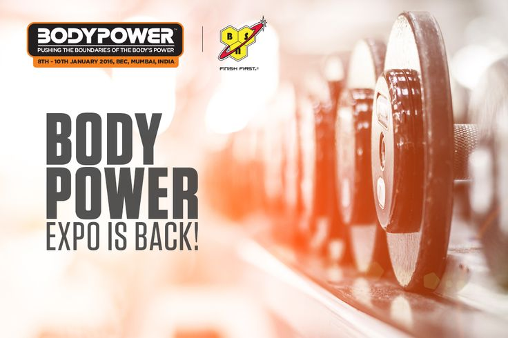 Are you excited for Body Power 2016 in Mumbai? Have you booked your tickets yet? Book tickets here: bit.ly/BodyPoweExpo2016  #fitness #health #BodyPowerExpo #BSN
