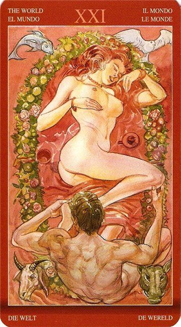 Tarot of Sexual Magic - Rozamira Tarot - Веб-альбомы Picasa