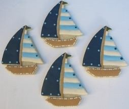 adorable cookie sailboats!!!!