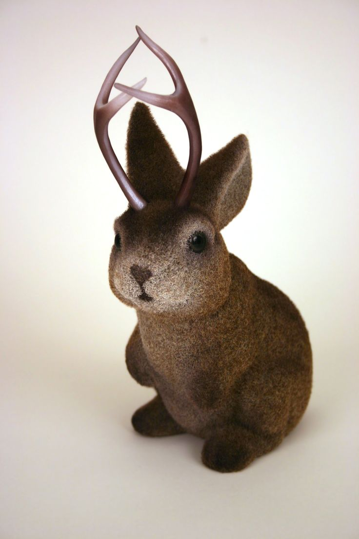 I like cryptozoological creatures. The jackalope is no exception.