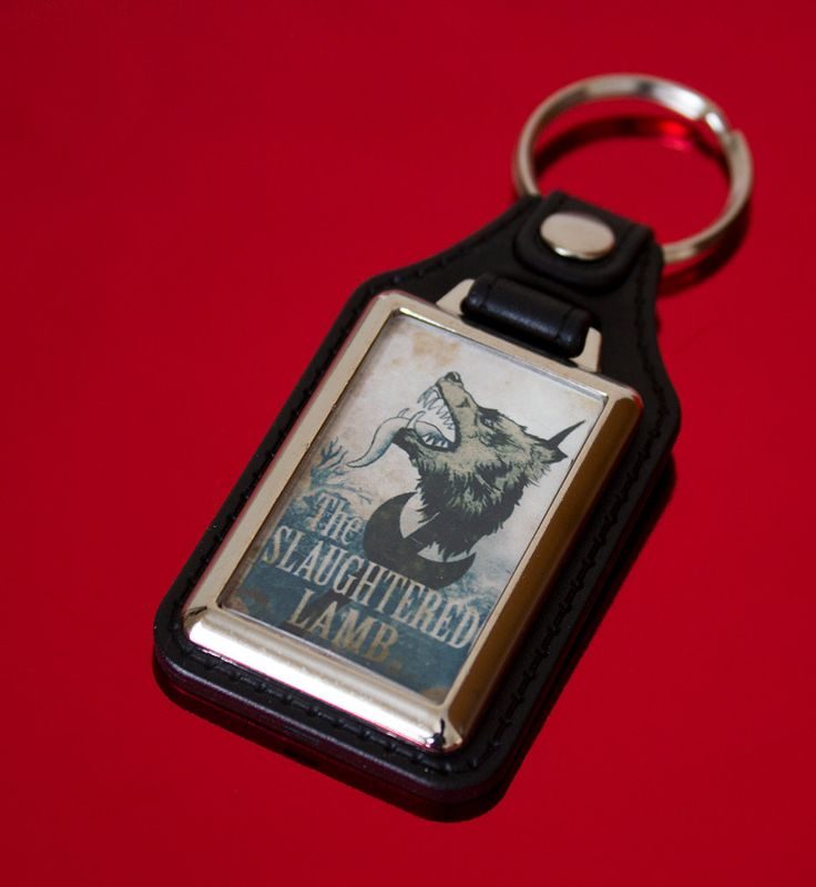 An American Werewolf in London Medallion Keyfob by UnofficiallyOriginal on Etsy