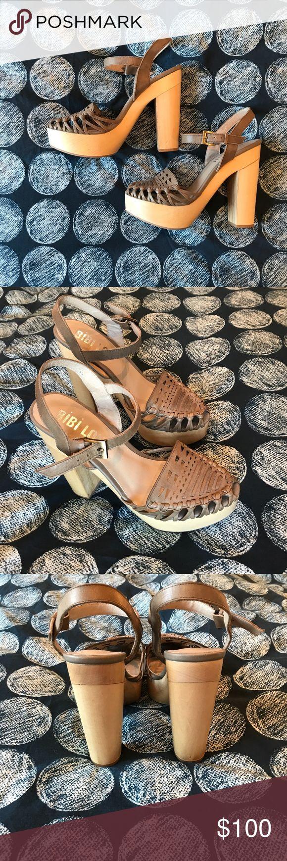I just added this listing on Poshmark: BiBi Lou Woven Leather Platform Sandals. #shopmycloset #poshmark #fashion #shopping #style #forsale #Bibi Lou #Shoes