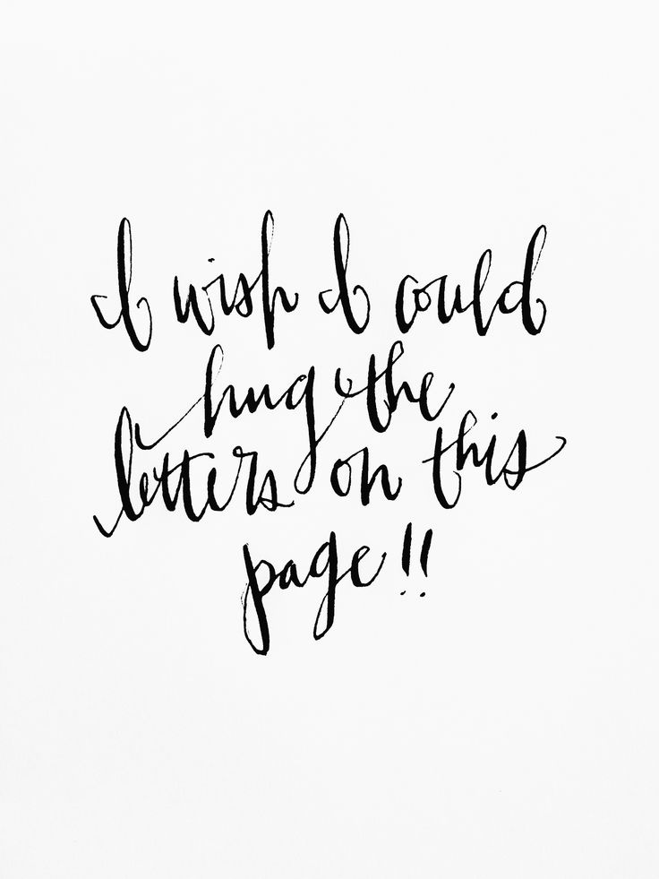does anyone else ever feel this way when they see lovely handlettering/calligraphy/type-related art?!?! I DO!!!