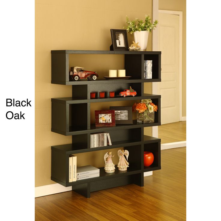 41 best bookcase images on pinterest book shelves for Furniture of america nara contemporary 6 shelf tiered open bookcase