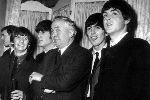 Премьер-Министр Великобритании Гарольд Вильсон, 1964