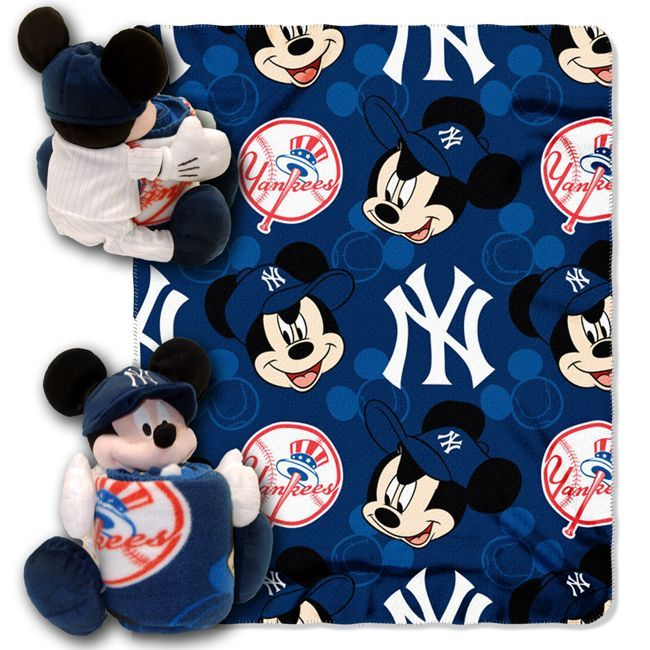 new york yankees nursery | MLB New York Yankees Disney Mickey Mouse Hugger - Buy at Team-Bedding ...