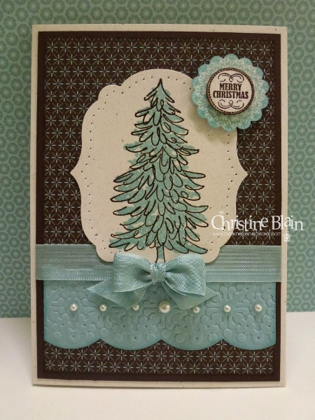 """SU Evergreen, Mixed Medley, 3/4"""" Circle and 1 1/4"""" Scallop Circle punches, Delicate Designs E F, Large Scallop Edgelits die, Labels Collection Framelits"""