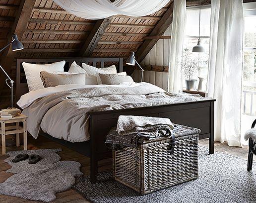 łóżka Podwójne I Ramy Meble Do Sypialni Ikea