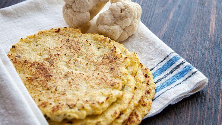 Tortilla tészta egy kicsit másképp! Karfiolból, mindössze 43 kalóriával!