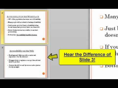 Using JAWS with Microsoft PowerPoint and Word - Normandale Community College