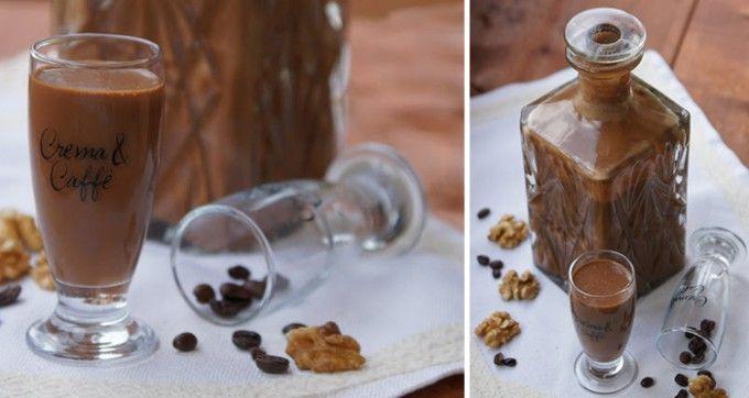 400 gkaramelové salko 1 šálekirská whiskey 1 šáleksmetana ke šlehání 1 lžičkainstantní káva 2 lžícekakao 2 lžičkyvanilkový a ořechový extrak