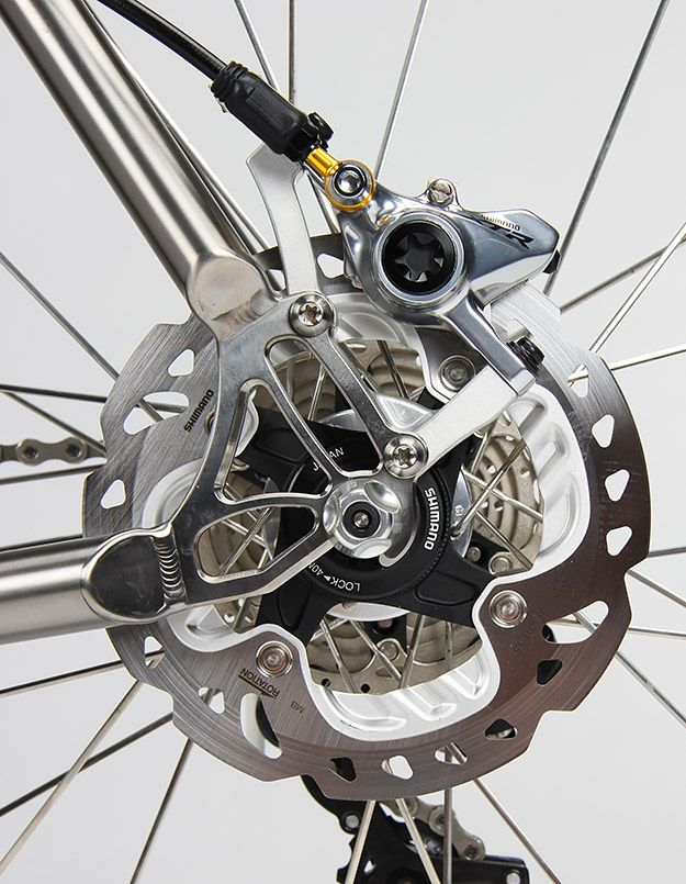 Firefly Bicycles' Jamie Medeiros shares his thoughts on the disc-specific dropouts Peter Verdone designed for their road frames. What do you think?
